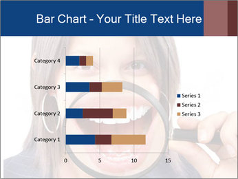 Beautiful young woman teeth PowerPoint Template - Slide 52