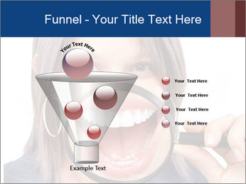 Beautiful young woman teeth PowerPoint Template - Slide 63