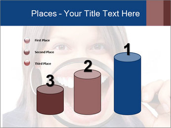 Beautiful young woman teeth PowerPoint Template - Slide 65