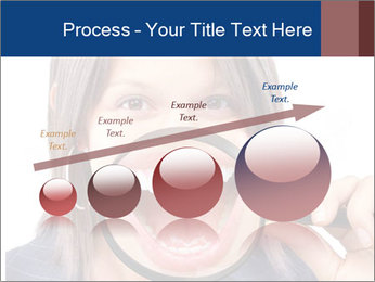 Beautiful young woman teeth PowerPoint Template - Slide 87