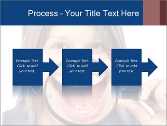 Beautiful young woman teeth PowerPoint Template - Slide 88