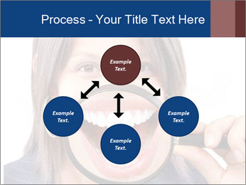 Beautiful young woman teeth PowerPoint Template - Slide 91