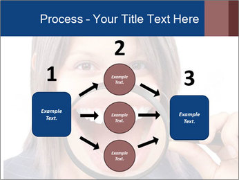 Beautiful young woman teeth PowerPoint Template - Slide 92