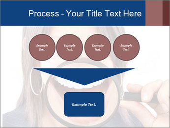 Beautiful young woman teeth PowerPoint Template - Slide 93