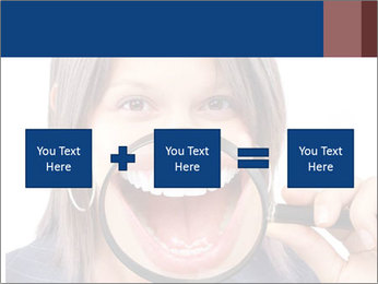 Beautiful young woman teeth PowerPoint Template - Slide 95