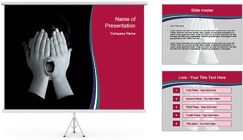 Freedom of speech concept PowerPoint Template