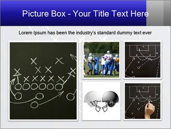 Chalk drawn football play PowerPoint Templates - Slide 19