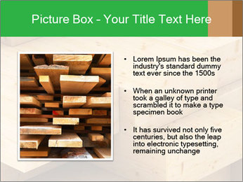 Wood timber PowerPoint Template - Slide 13