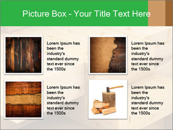 Wood timber PowerPoint Template - Slide 14