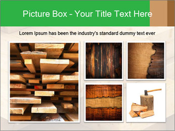 Wood timber PowerPoint Template - Slide 19