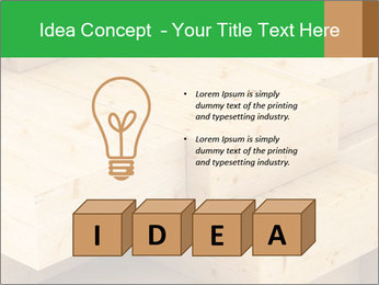 Wood timber PowerPoint Template - Slide 80