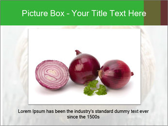 Fresh roasted garlic bulb PowerPoint Templates - Slide 15