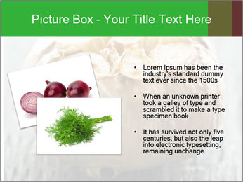 Fresh roasted garlic bulb PowerPoint Templates - Slide 20