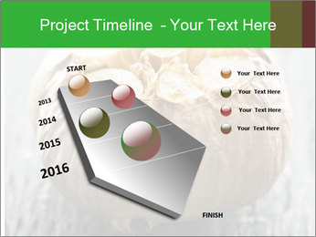 Fresh roasted garlic bulb PowerPoint Templates - Slide 26
