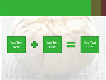 Fresh roasted garlic bulb PowerPoint Templates - Slide 95