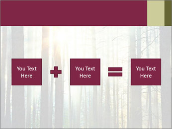 Sunset in the woods PowerPoint Template - Slide 95