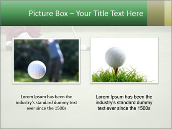 Feet of female golf player PowerPoint Templates - Slide 18