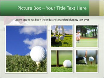 Feet of female golf player PowerPoint Templates - Slide 19