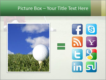 Feet of female golf player PowerPoint Templates - Slide 21