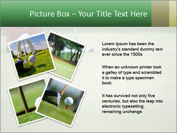 Feet of female golf player PowerPoint Templates - Slide 23