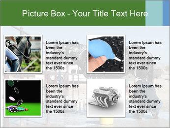 Horse getting a bath PowerPoint Templates - Slide 14