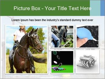 Horse getting a bath PowerPoint Templates - Slide 19