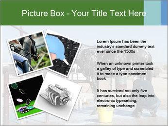 Horse getting a bath PowerPoint Templates - Slide 23