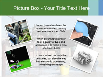Horse getting a bath PowerPoint Template - Slide 24