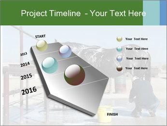 Horse getting a bath PowerPoint Templates - Slide 26