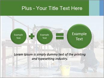 Horse getting a bath PowerPoint Templates - Slide 75