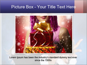Young beautiful woman PowerPoint Templates - Slide 15