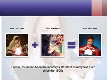 Young beautiful woman PowerPoint Templates - Slide 22