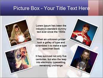Young beautiful woman PowerPoint Templates - Slide 24