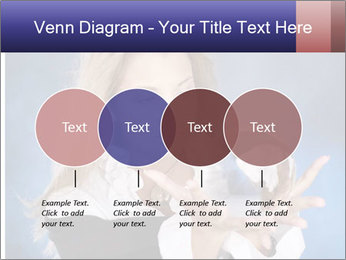 Young beautiful woman PowerPoint Templates - Slide 32
