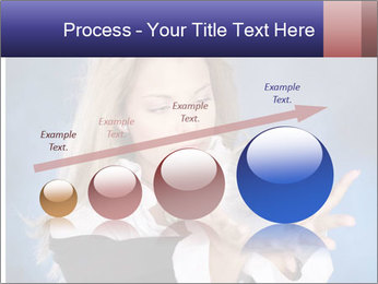 Young beautiful woman PowerPoint Templates - Slide 87