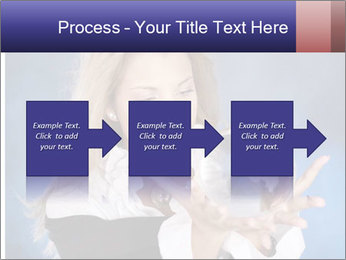 Young beautiful woman PowerPoint Templates - Slide 88