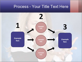 Young beautiful woman PowerPoint Templates - Slide 92