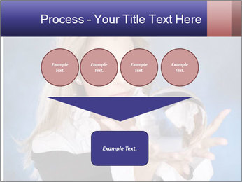 Young beautiful woman PowerPoint Templates - Slide 93