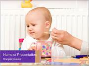 Feeding procedure PowerPoint Templates