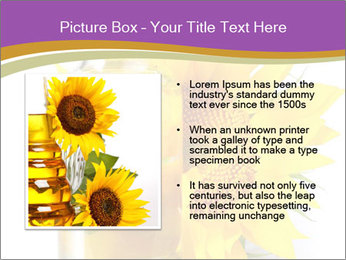 Bottle of sunflower PowerPoint Template - Slide 13