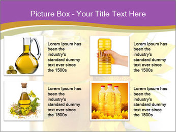 Bottle of sunflower PowerPoint Template - Slide 14