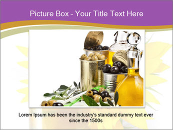 Bottle of sunflower PowerPoint Template - Slide 15