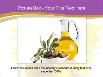 Bottle of sunflower PowerPoint Template - Slide 16