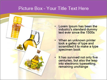 Bottle of sunflower PowerPoint Template - Slide 17
