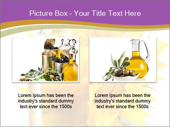 Bottle of sunflower PowerPoint Template - Slide 18