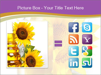 Bottle of sunflower PowerPoint Template - Slide 21