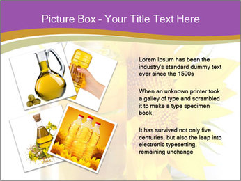 Bottle of sunflower PowerPoint Template - Slide 23