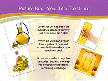 Bottle of sunflower PowerPoint Template - Slide 24