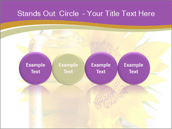 Bottle of sunflower PowerPoint Template - Slide 76