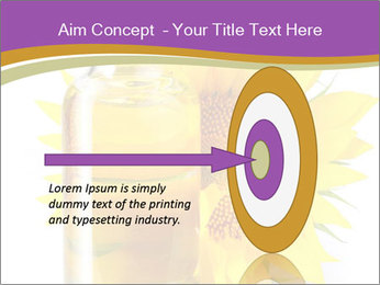 Bottle of sunflower PowerPoint Template - Slide 83